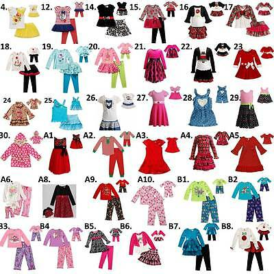 """Dollie & Me Sz 4-14 and 18"""" doll matching  dress outfit clothes american girl"""