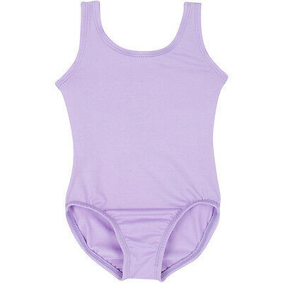 LILAC PURPLE Tank Leotard for Ballet and Gymnastics