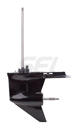 """Mercury Outboard Complete New Lower Unit V6 150 175 200 HP 1.87R 25"""""""