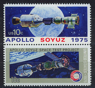 ESTADOS UNIDOS/USA 1975 MNH SC.1569/1570 Apollo Soyuz