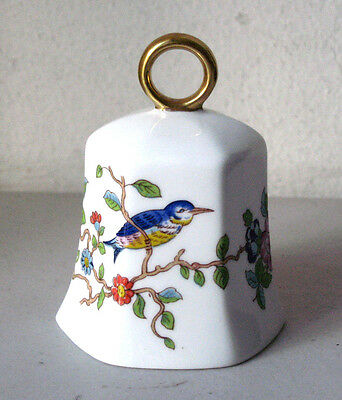 Vintage Aynsley Fine Bone China Golden Ring Dinner Bell Collectible