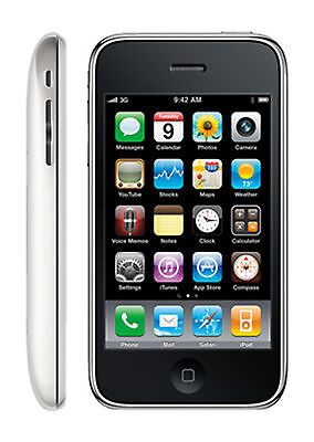 Apple iPhone 3GS - 16GB - White (AT&T) Smartphone (B) Very Good Condition