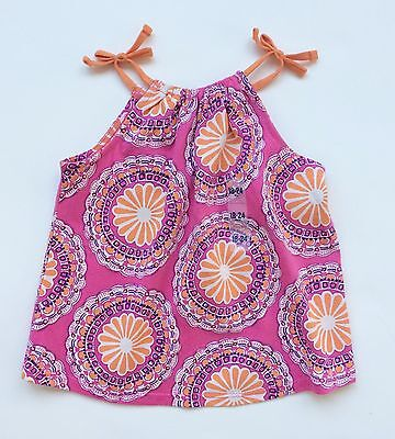NWT Old Navy Baby Girls Pink Floral Print Tank Top 18-24 Months