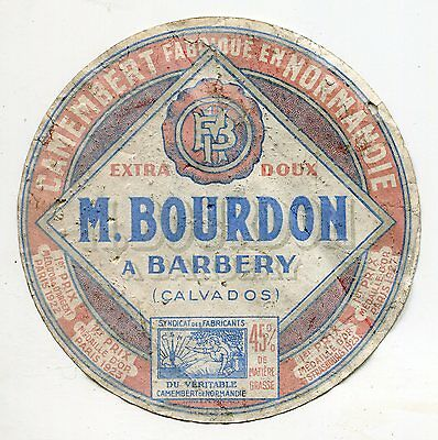 Fromage  Camembert M Bourdon A Barbery