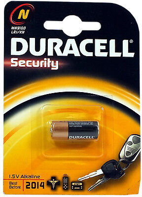 Duracell Security LR1 MN9100 N Type 910A E90 1.5v Alkaline Batteries