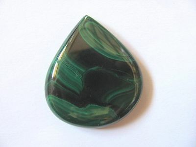 Malachit-Malachite Cabochon 37,2x32,4 mm 91 ct. U6475
