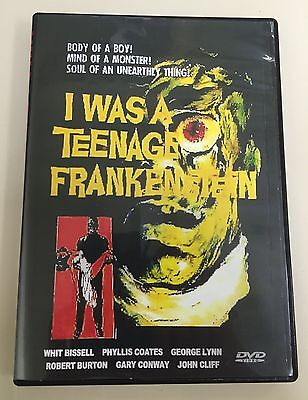 I Was A Teenage Frankenstein (1957) Whit Bissel, Phyllis Coats, Gary Conway
