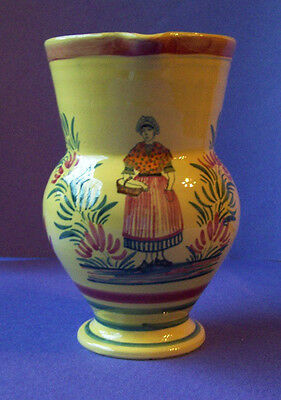 QUIMPER pitcher in yellow from the series of PROVINCES