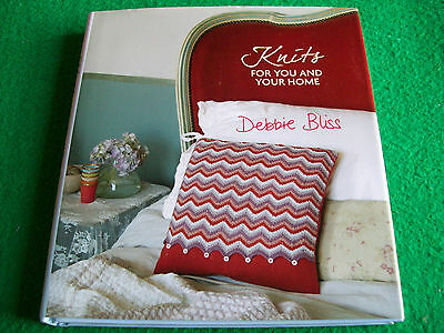 Knits for You and Your Home: Debbie Bliss: NEW Craft Hardback