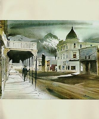 "1970 Vintage NEVADA UTAH Full Color Art Plate /""ARCHES 3 GOSSIPS/"" McIntyre Litho"