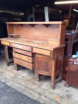 Cmb2 Antique Arts And Crafts Built In Side Board