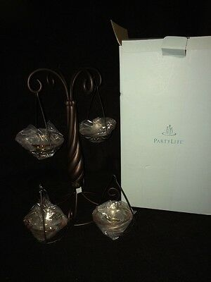 Partylite Global Fusion Tealight Tree NEW IN THE BOX
