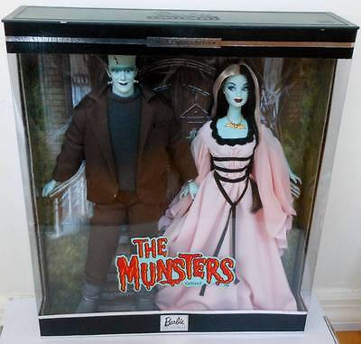 The Munsters Giftset Barbie & Ken~Lily & Herman~NRFB~NIB