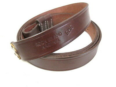 Indian War Leather Sling for 1873 Trapdoor & 1898 Krag-Jorgensen Rifle RIA Repro