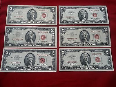 (1) One 1963  Series $2 Two Dollar Red Seal US Legal Tender Note *VF* F-1514