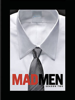 MAD MEN  Season 2 Second Two (DVD 2009, 4-Disc Set) NEW FACTORY SEALED 24hr ship