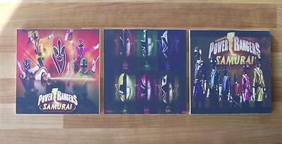Power Rangers Samurai  Canvas Wall Art Plaques/pictures - Free Post