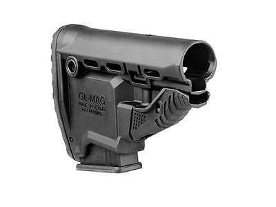 FAB DEFENSE TACTICAL GL Mag stock w/556 magazine carrier &10RD Mag