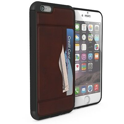 For Apple iPhone 6 Case | Ghostek STASH Leather Card Wallet Protective Cover