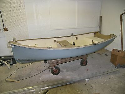 10 Fiberglass Sailing and Rowing Dinghy Trinka 10 Yacht Tender