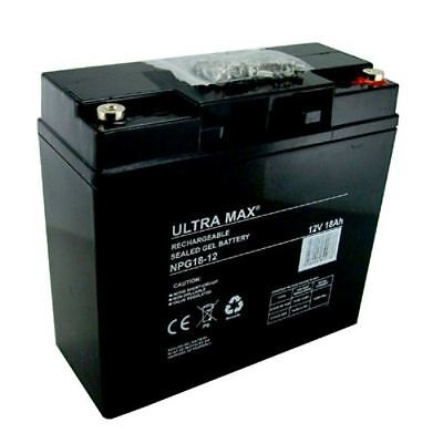 MOBYLETTE & CHAISE ROULANTE BATTERIES Paire - UltraMax 12V 18AH (20AH 21AH)