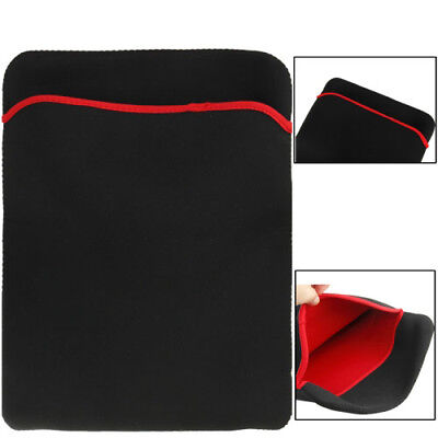 ELETTRONICA Black Soft Sleeve Case Bag for 15 inch Laptop
