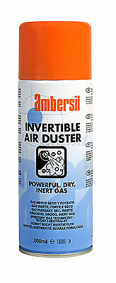 Ambersil Invertible Air Duster 200ml Aerosol