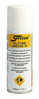 Servisol 6100010000 Silicone Grease 70 200ml