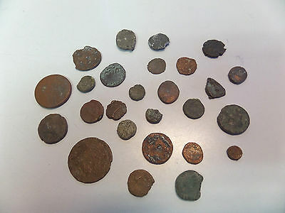 Lot of 26 Ancient Roman Coins