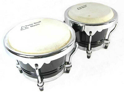 "PROFESSIONAL BONGO DRUMS bongos latin percussion drum 6.5"" macho 7.5"" hembra"
