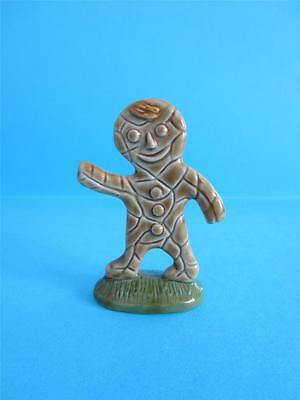 ♥ WADE NURSERY RHYME BLOW-UP GINGERBREAD MAN FIGURINE, 2008 RARE TO FIND *Mint*