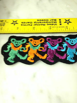 Dead Bears   Iron On Patch