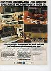 Spacemaker Microwave Ovens from GE 1980  Magazine Ad