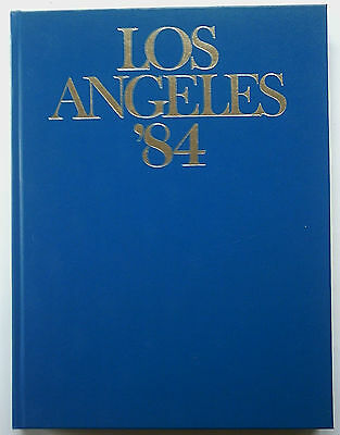 Orig.Book / Report    Olympic Games LOS ANGELES 1984 - in English/French/Italian