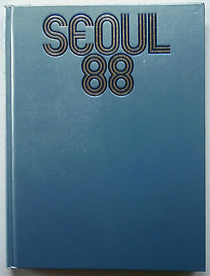 Orig.Book / Report    Olympic Games SEOUL 1988  -  in English/French/Italian  !!