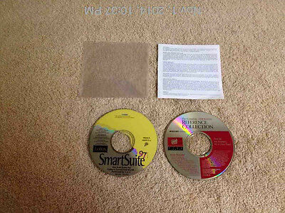 Lotus SmartSuite 97 PC CD  AND 1998 COMPLETE COMPTONS REFERENCE COLLECTION CD