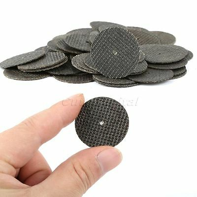 Lots 50pcs 32mm Resin Fibre Round Sanding Disc Grit Cutting Wheel Grinder