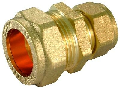 Brass Compression REDUCING Straight Coupler 8,10,12,15,22,28,35mm Brand New