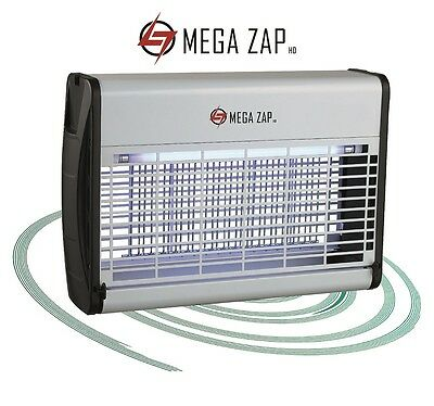 Megazap Hd Electric Fly Killer - Insect / Bug Zapper Grid 16W 30W 40W