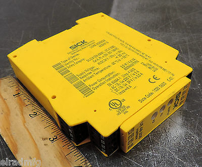 Sick Ue48-20S3D2 Intelliface 24 Vac/dc Safety Relay Ue 48-20S Used