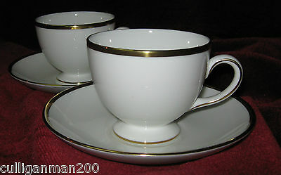 1 - Lot of 2 - Wedgwood California Tea Cups & Saucers (2015-040)