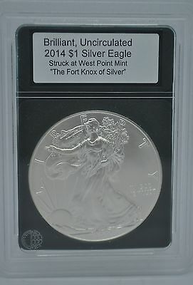 2014 Uncirculated $1 Silver Eagle Walking Liberty West Point Mint