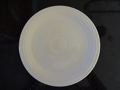 """*VINTAGE* Fiesta Ware 9"""" LUNCHEON PLATE Old Ivory (1936-1951) 9 1/2"""" D"""