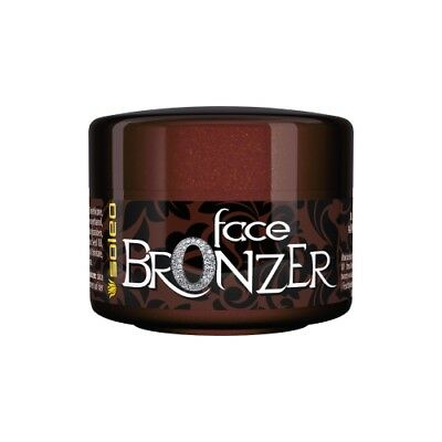 Soleo Face Bronzer sunbed tanning lotion cream fast tanning & anti-ageing