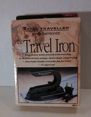 New Royal Traveller by Samsonite the Travel Iron in box wrapped