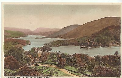 Cumbria Postcard - Coniston Water from Beacon Crag   ZZ1813