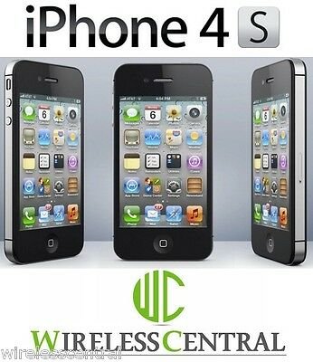 Apple iPhone 4S FACTORY UNLOCKED AT&T 8/16/32 GB MINT CONDITION PHONES