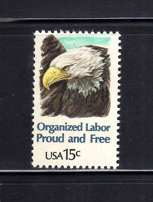 ESTADOS UNIDOS/USA 1980 MNH SC.1831 Organized Labor