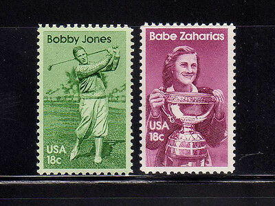 ESTADOS UNIDOS/USA 1981 MNH SC.1932/1933 Athletes