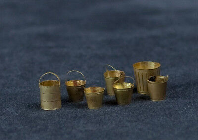 Alliance Model Works 1:35 Scale Buckets Various Types #LW35089